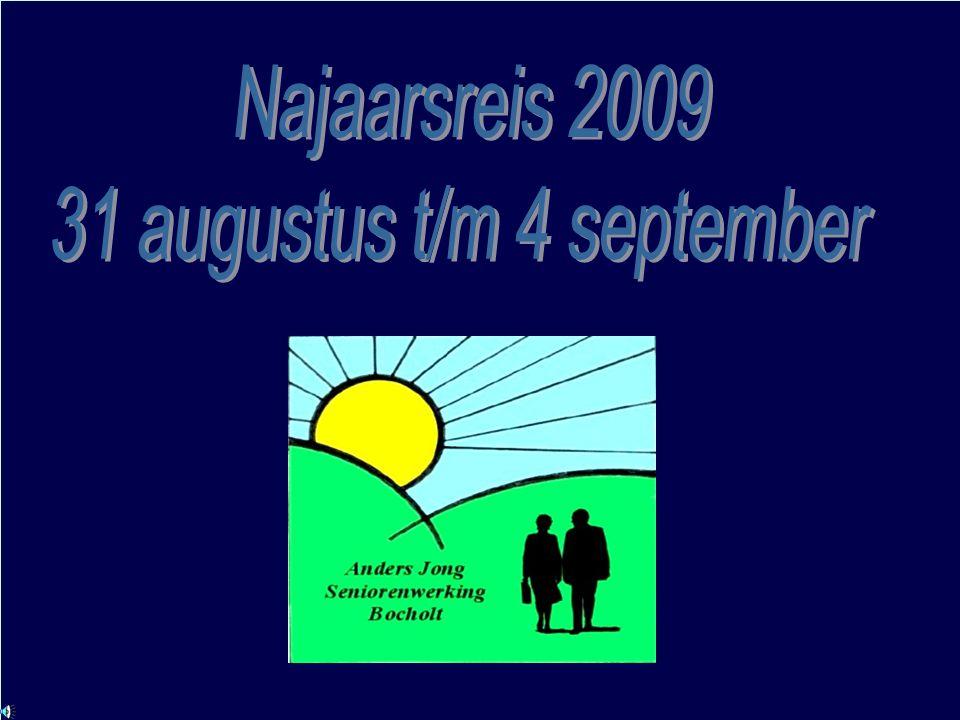 31 augustus t/m 4 september