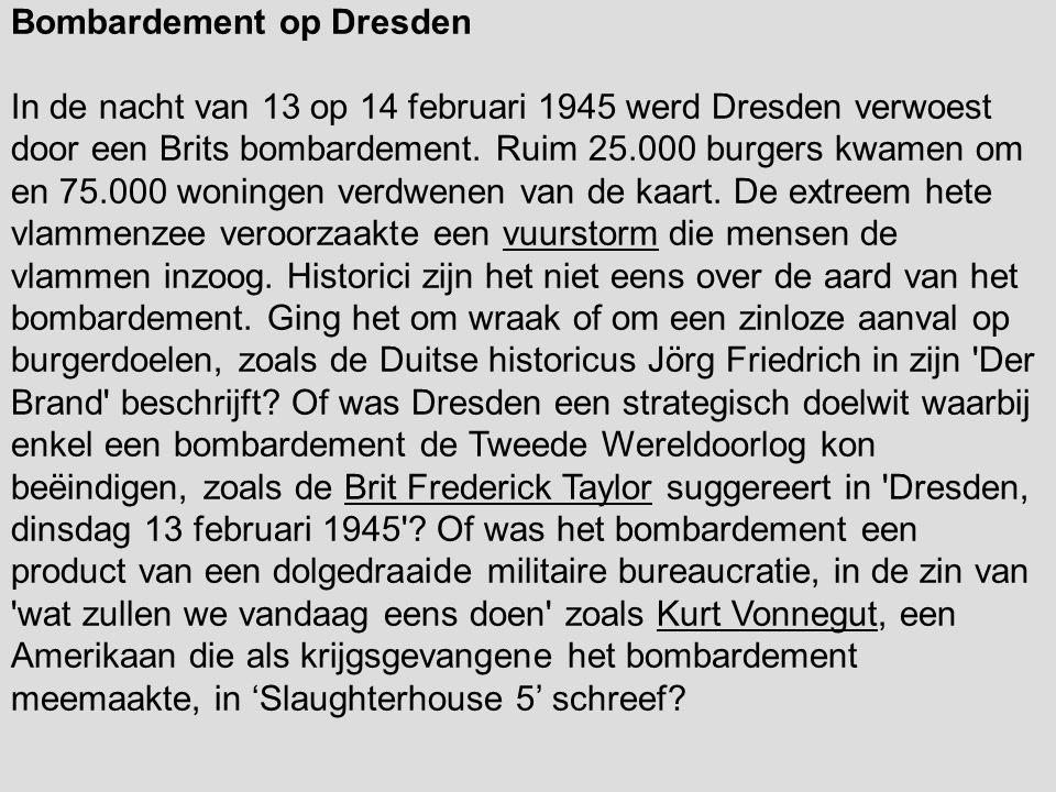 Bombardement op Dresden