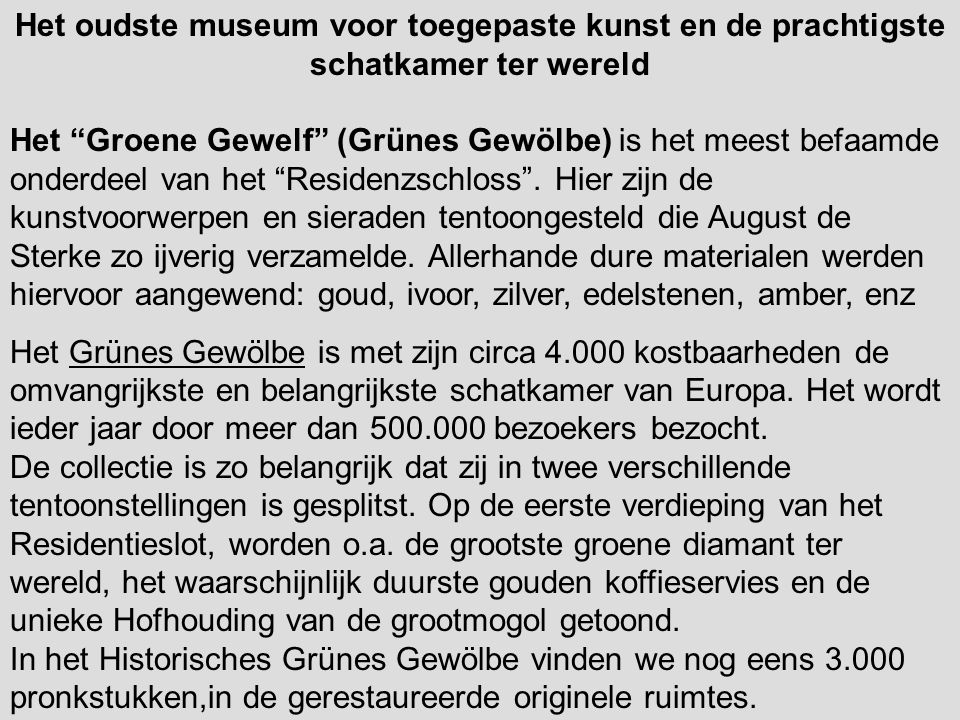 Het oudste museum voor toegepaste kunst en de prachtigste schatkamer ter wereld