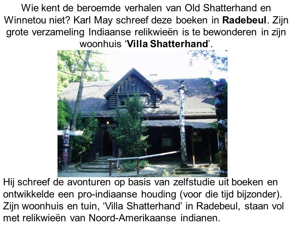 Wie kent de beroemde verhalen van Old Shatterhand en Winnetou niet