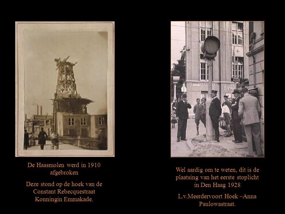 De Haasmolen werd in 1910 afgebroken