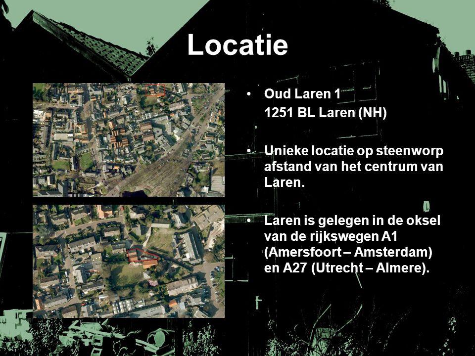 Locatie Oud Laren 1 1251 BL Laren (NH)