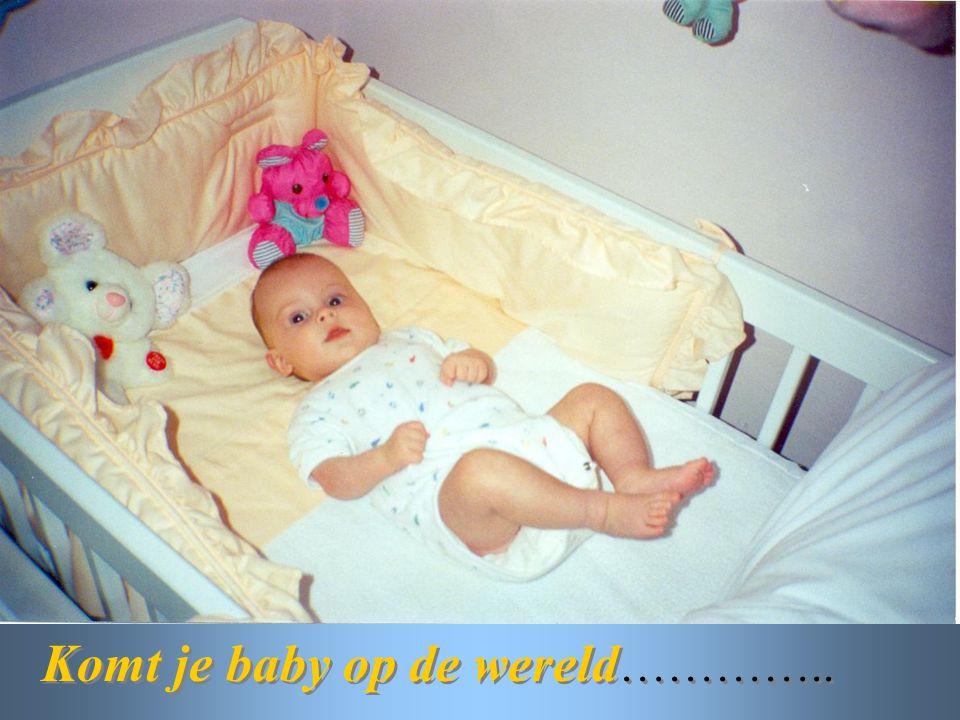 Komt je baby op de wereld…………..