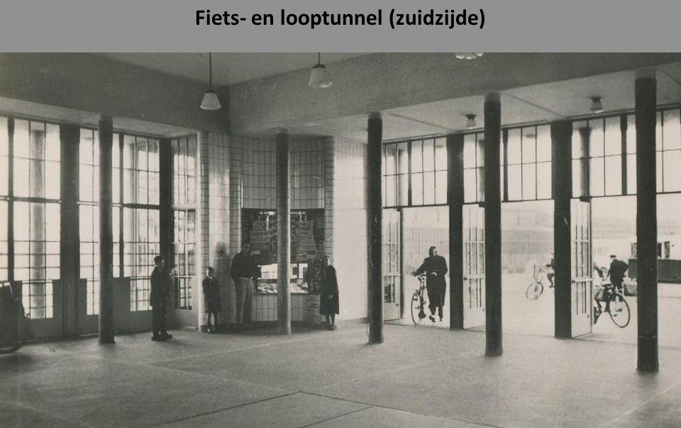Fiets- en looptunnel (zuidzijde)