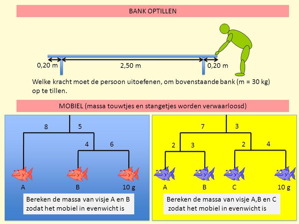MOBIEL (massa touwtjes en stangetjes worden verwaarloosd)