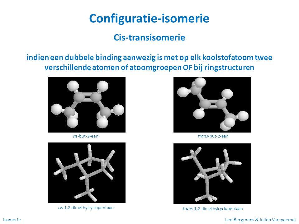 Configuratie-isomerie
