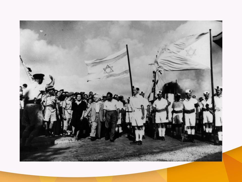 1948 – de stichting van de staat Israël – werd en wordt door veel christenen gezien als een ingrijpen van God.