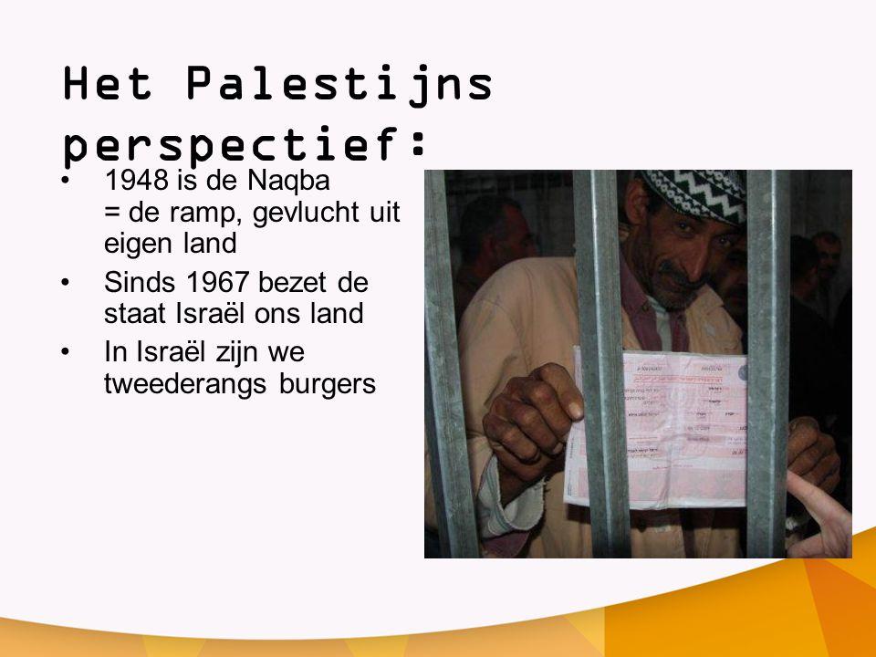 Het Palestijns perspectief: