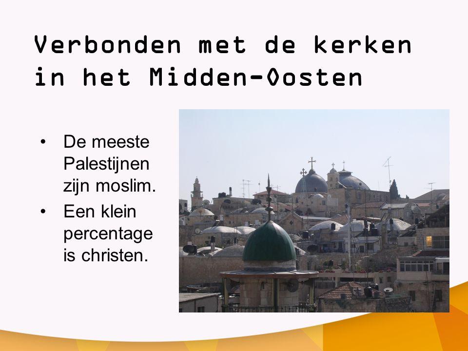 Verbonden met de kerken in het Midden-Oosten
