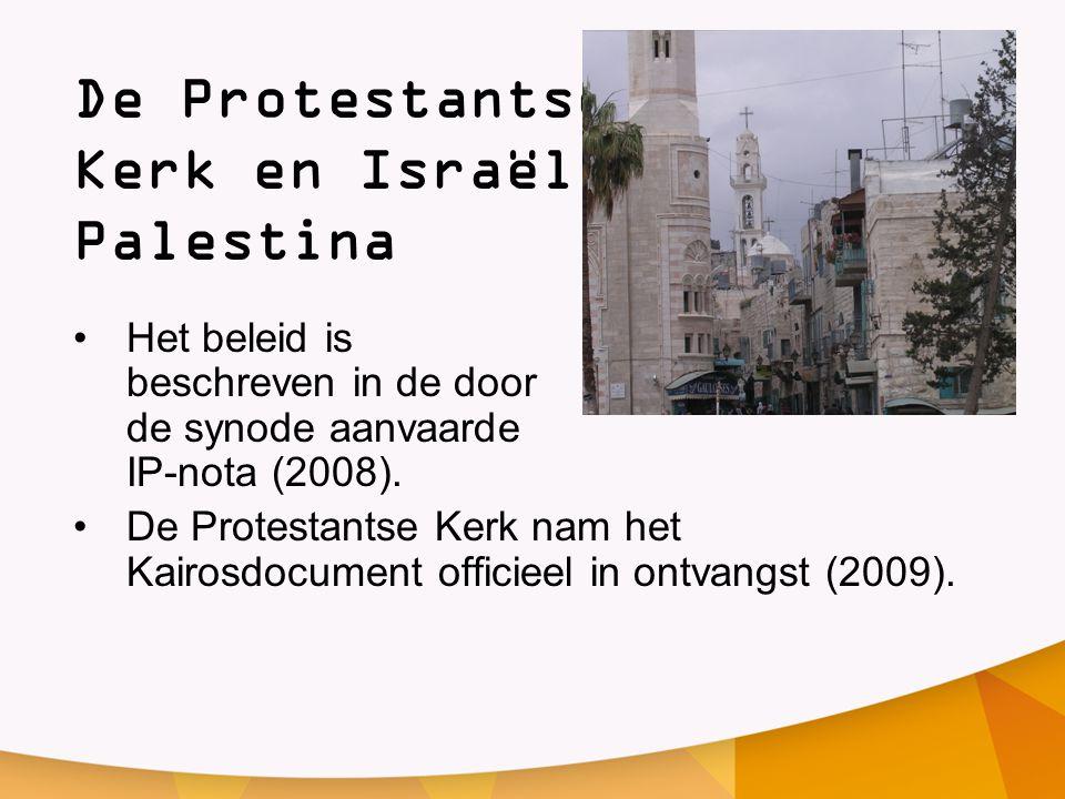De Protestantse Kerk en Israël / Palestina