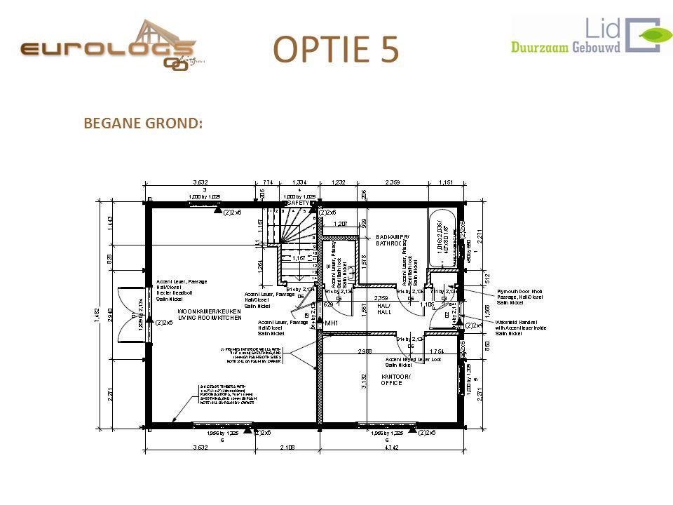 OPTIE 5 BEGANE GROND: