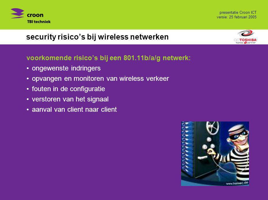security risico's bij wireless netwerken