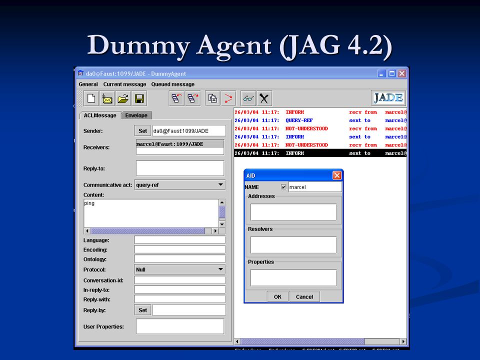 Dummy Agent (JAG 4.2)