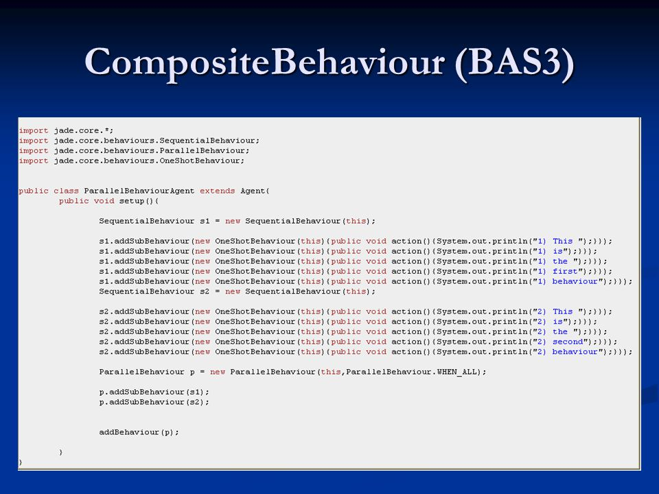 CompositeBehaviour (BAS3)