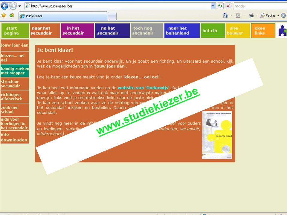 december 2006 www.studiekiezer.be VCLB Leuven