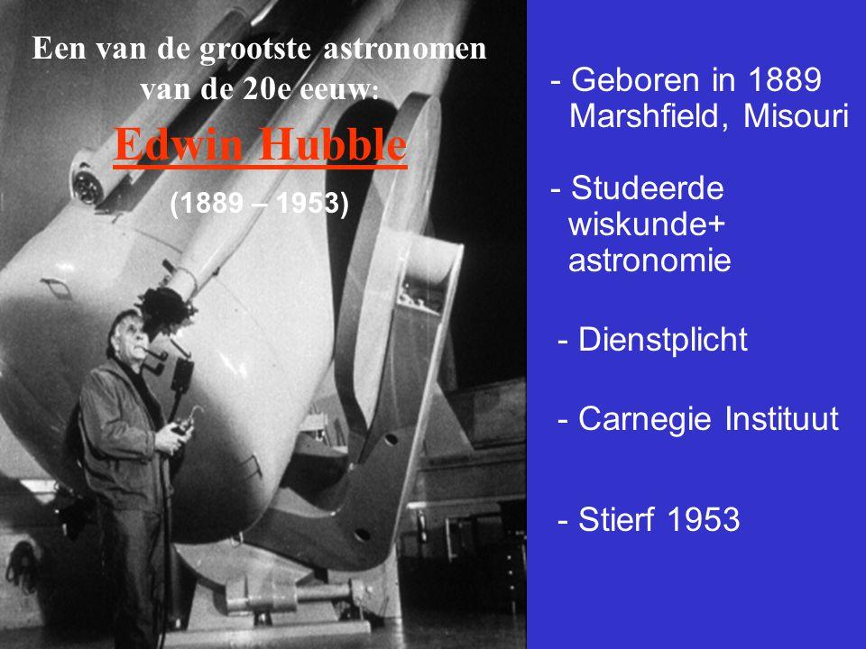 Een van de grootste astronomen van de 20e eeuw: