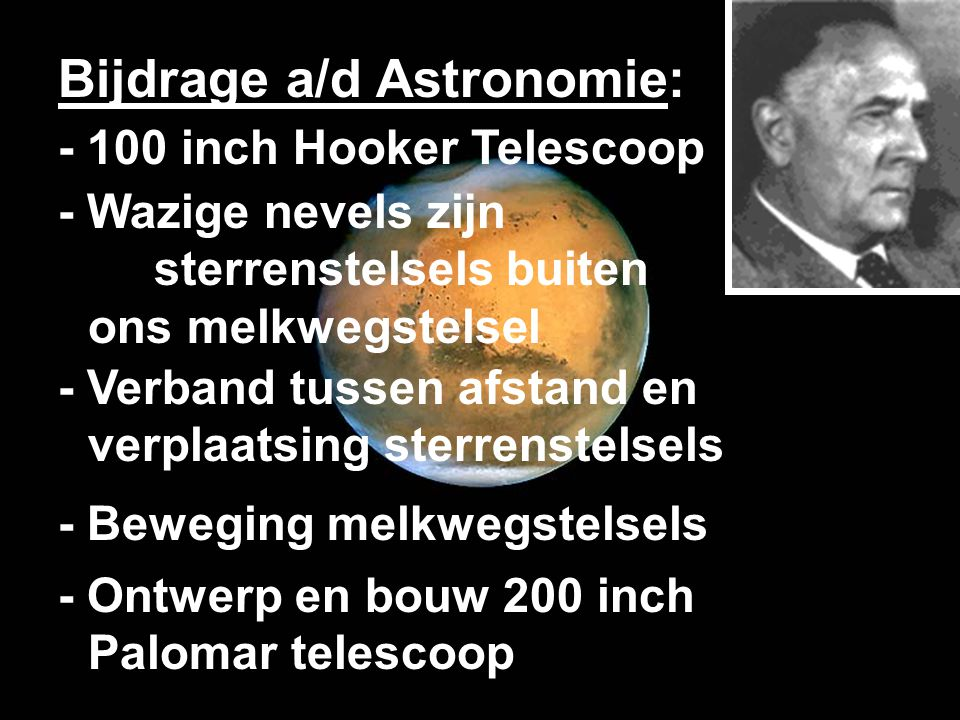 Bijdrage a/d Astronomie: