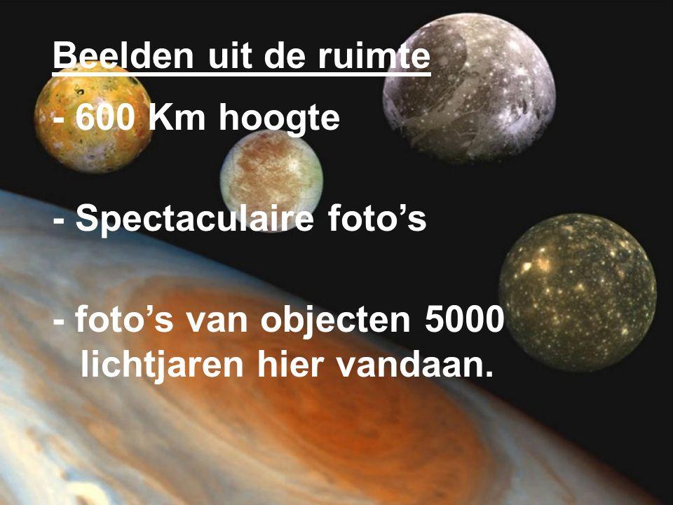 Beelden uit de ruimte - 600 Km hoogte. - Spectaculaire foto's.