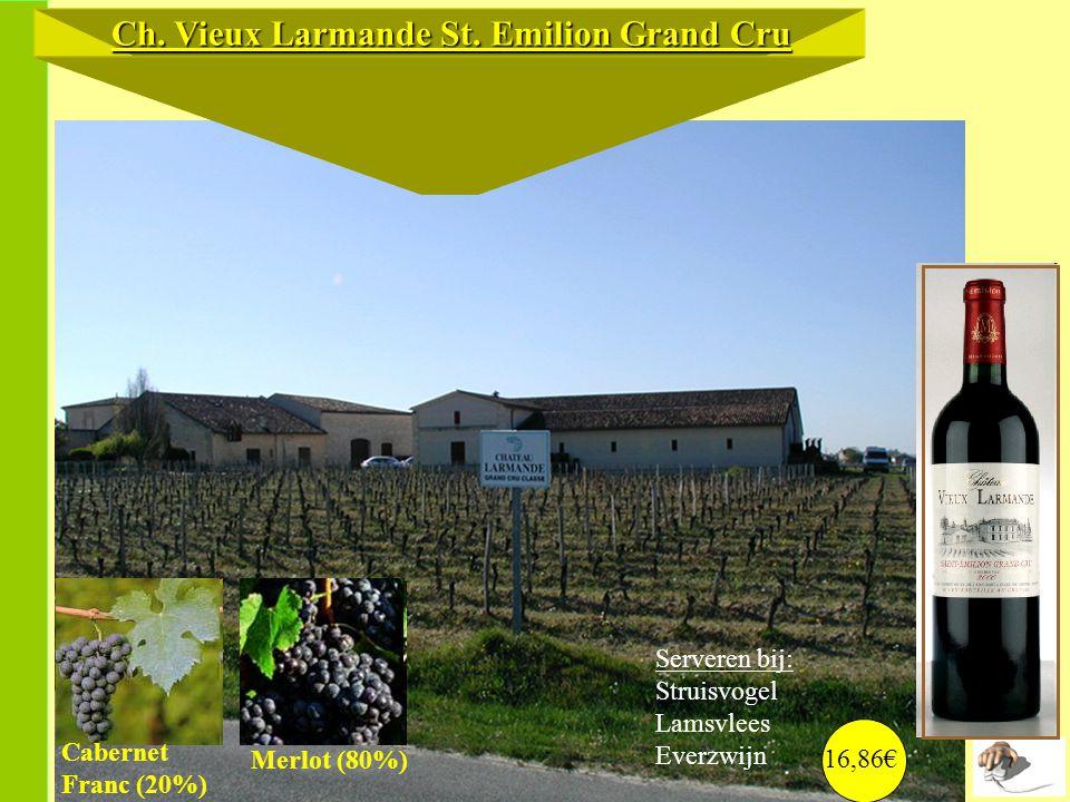 Ch. Vieux Larmande St. Emilion Grand Cru