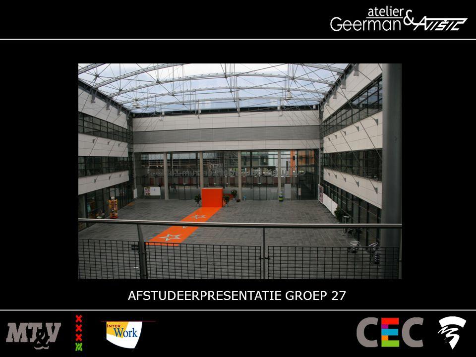 AFSTUDEERPRESENTATIE GROEP 27