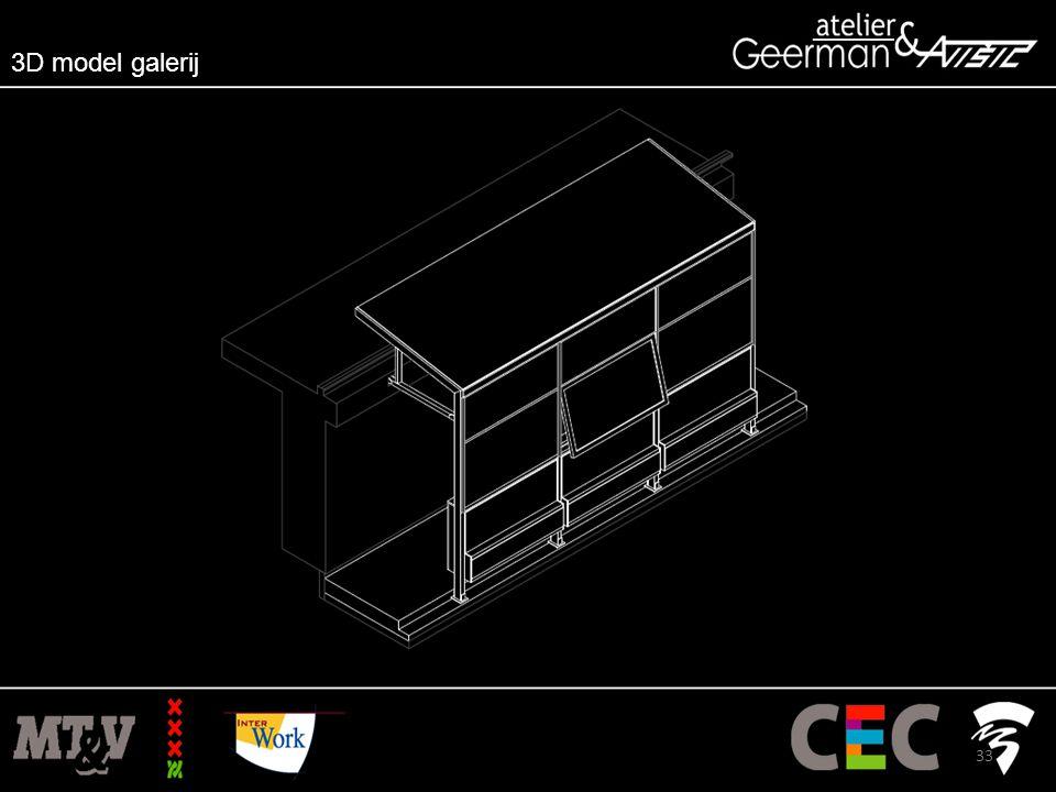 3D model galerij