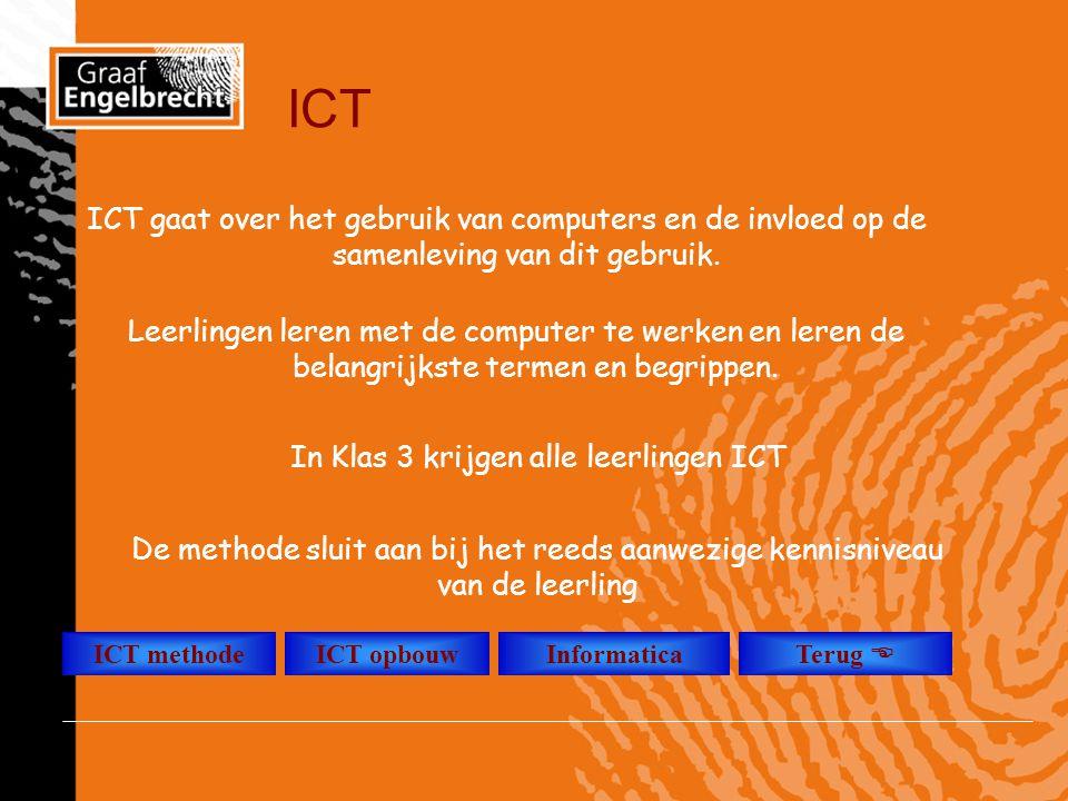 In Klas 3 krijgen alle leerlingen ICT