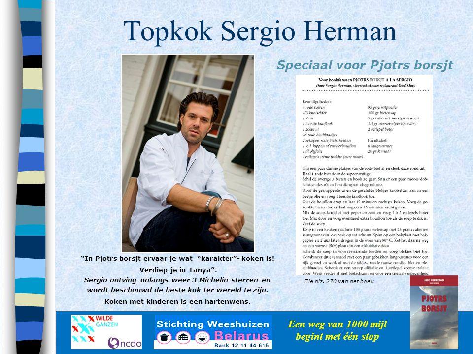 Topkok Sergio Herman Speciaal voor Pjotrs borsjt