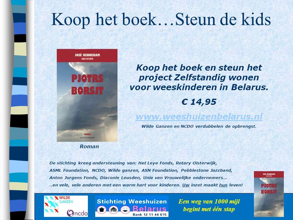 Koop het boek…Steun de kids