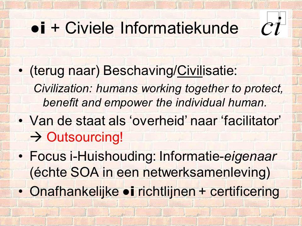 ●і + Civiele Informatiekunde