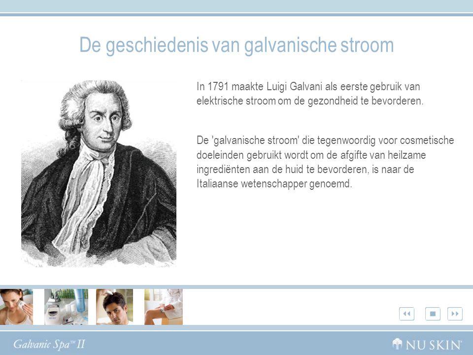 De geschiedenis van galvanische stroom