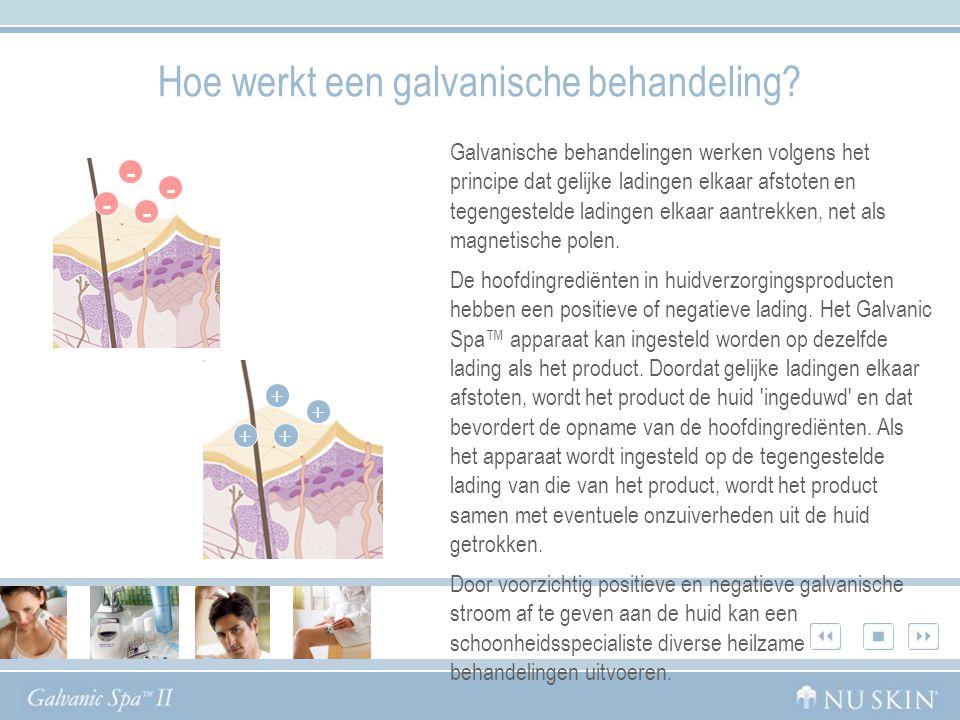 Hoe werkt een galvanische behandeling