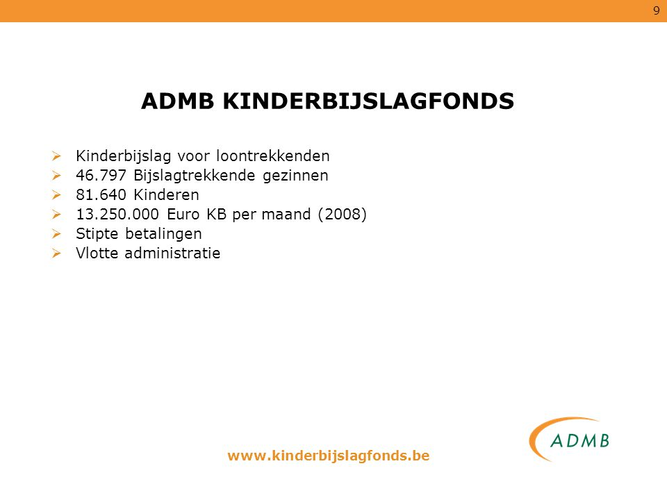 ADMB KINDERBIJSLAGFONDS