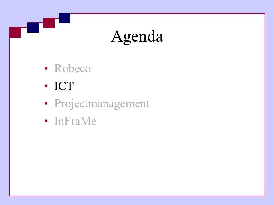 Agenda Robeco ICT Projectmanagement InFraMe