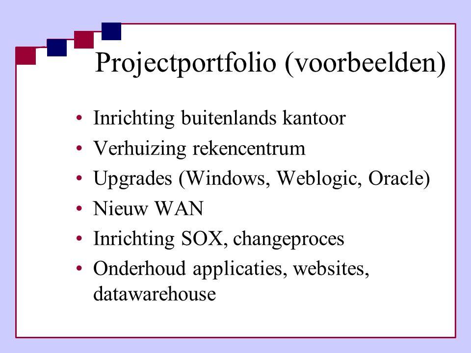Projectportfolio (voorbeelden)