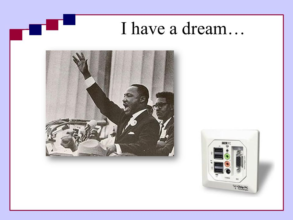 I have a dream… 5