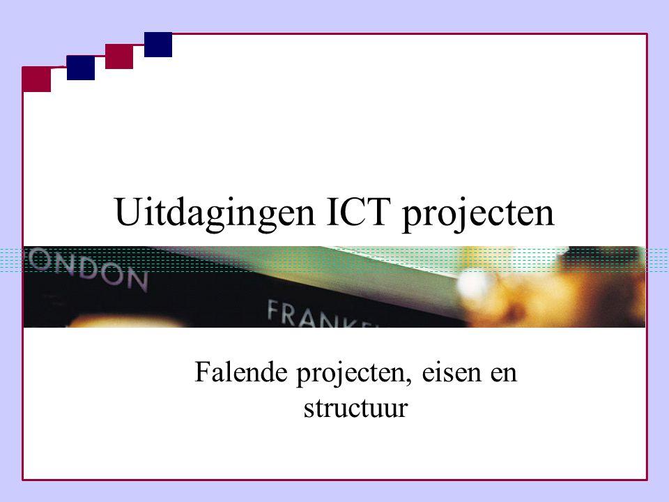 Uitdagingen ICT projecten