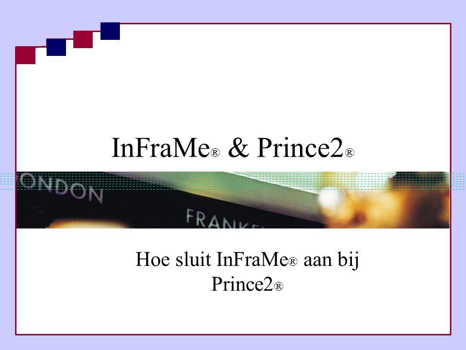 Hoe sluit InFraMe® aan bij Prince2®
