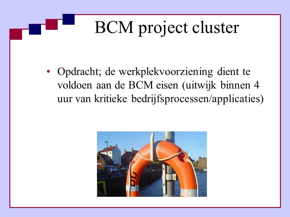BCM project cluster