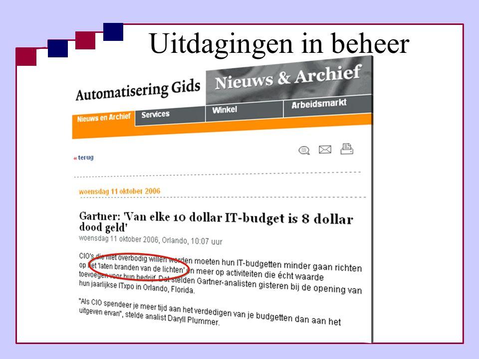 Uitdagingen in beheer Sogeti Nederland B.V. Pagina 9
