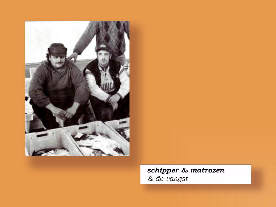 schipper & matrozen & de vangst