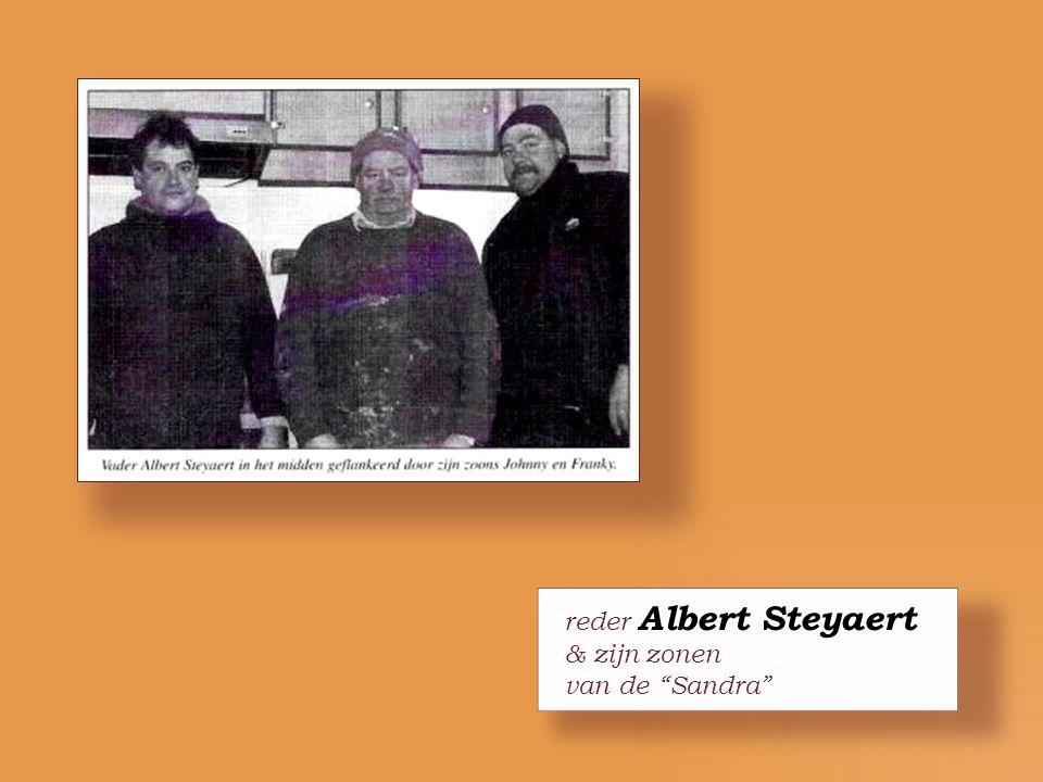 reder Albert Steyaert & zijn zonen van de Sandra