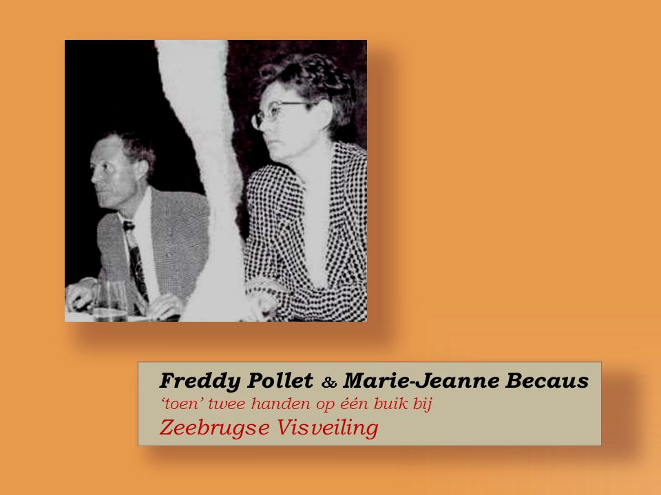 Freddy Pollet & Marie-Jeanne Becaus