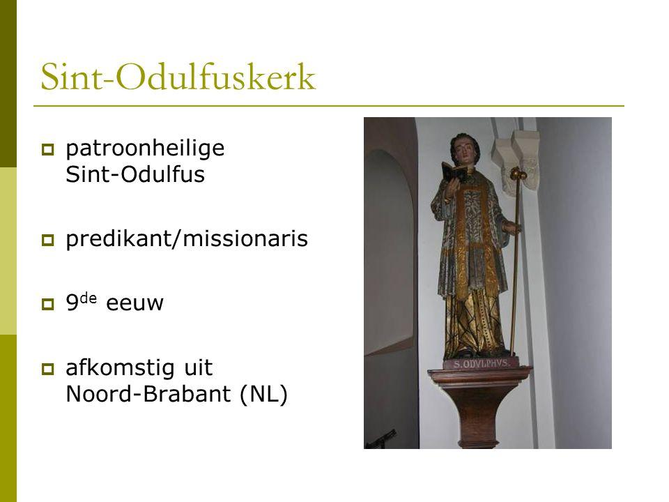 Sint-Odulfuskerk patroonheilige Sint-Odulfus predikant/missionaris