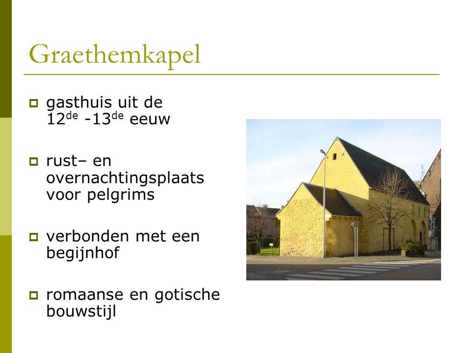 Graethemkapel gasthuis uit de 12de -13de eeuw