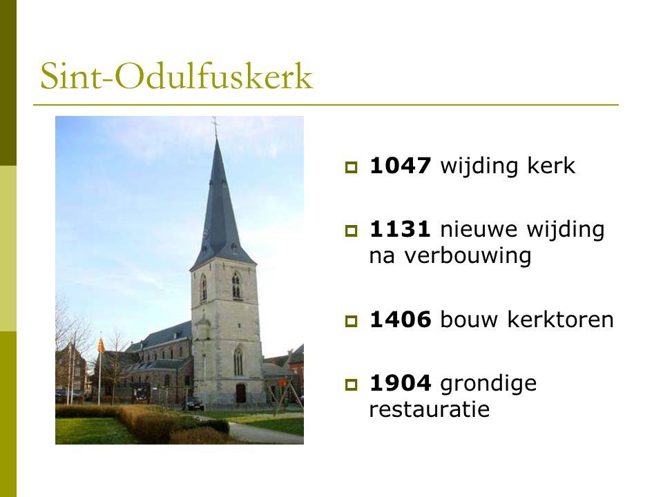 Sint-Odulfuskerk 1047 wijding kerk 1131 nieuwe wijding na verbouwing