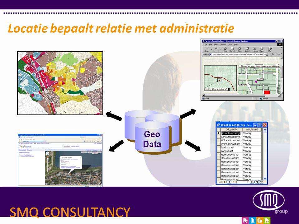 Locatie bepaalt relatie met administratie