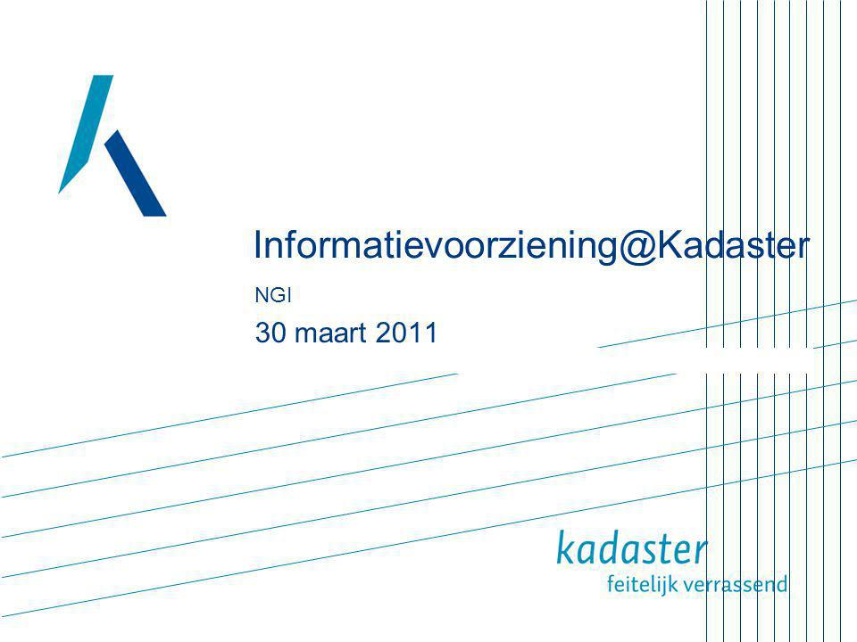 Informatievoorziening@Kadaster