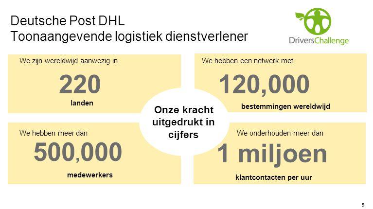 Deutsche Post DHL Toonaangevende logistiek dienstverlener