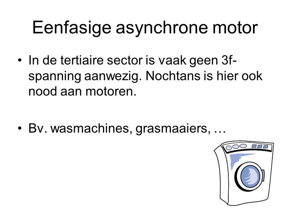 Eenfasige asynchrone motor