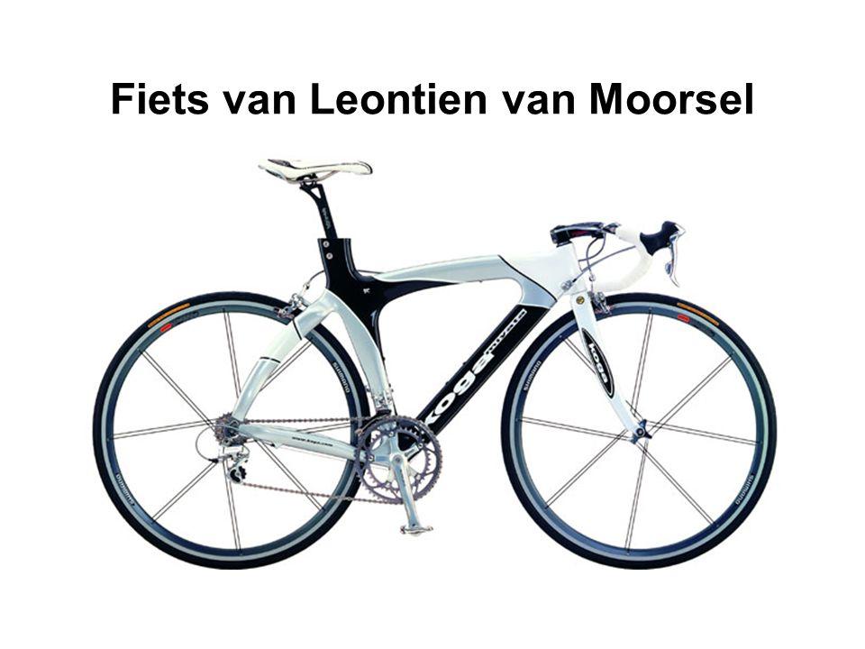 Fiets van Leontien van Moorsel
